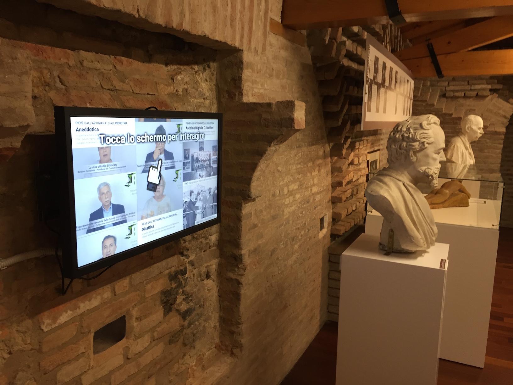 schermo museo pieve