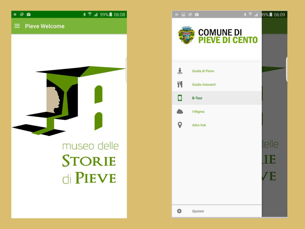 app pieve welcome